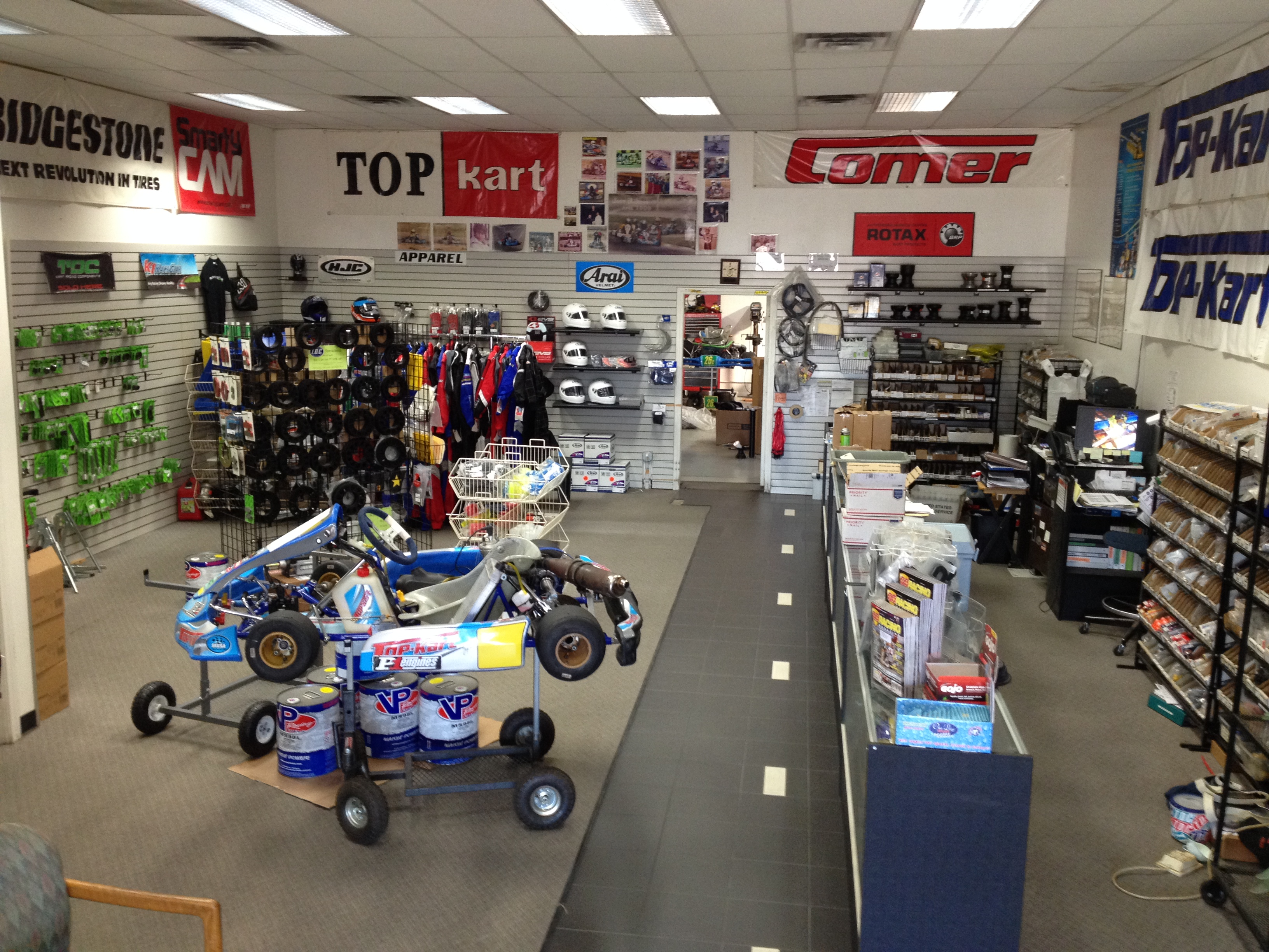 Empire Karts Showroom